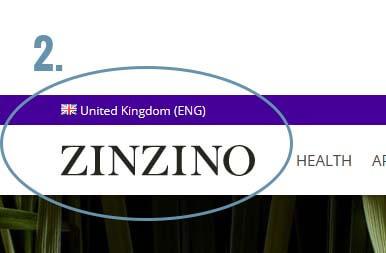 2# Check Zinzino shipping country